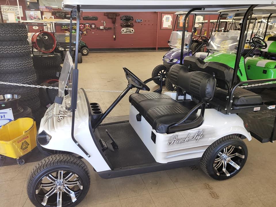 Golf Car Raffle
